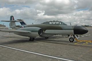 DSC_4566 - Gloster Meteor NF. Mk. 11, G-LOSM (WM167), Aviation Heritage Ltd., Newquay Cornwall Airport, 23rd July 2013.