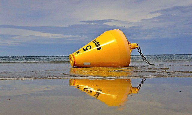 Reflection at five knots