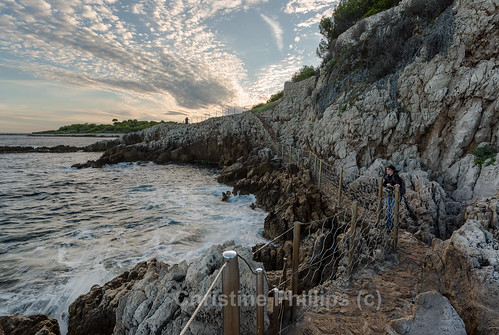 antibes france southfrance southernfrance monaco nice path coast sea sunset dramatic rock waves ocean mediterraneansea christinephillips magical outdoor holiday vacation explore neverstopexploring