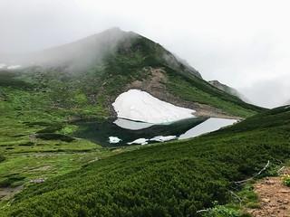 乗鞍岳 肩の小屋~お花畑 不消ヶ池   by ichitakabridge