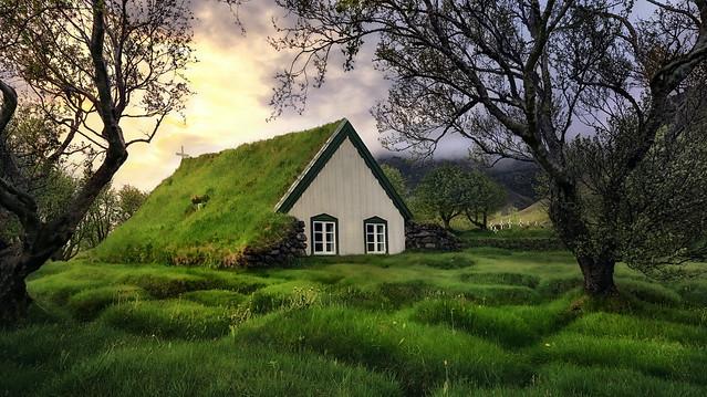 Kirche Litla Hof, Island