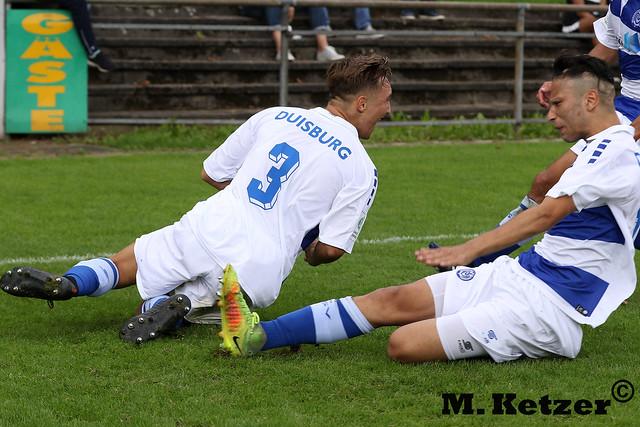 DJK Arminia Klosterhardt U19 - MSV Duisburg U19