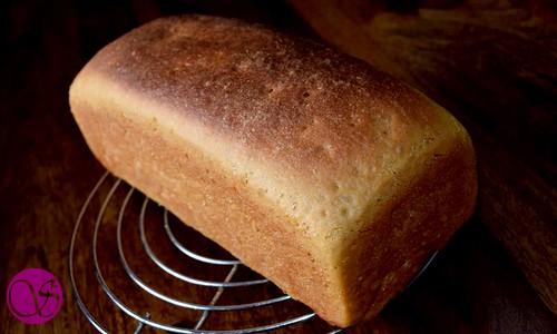 Honey Buttermilk Bread on cooling rack