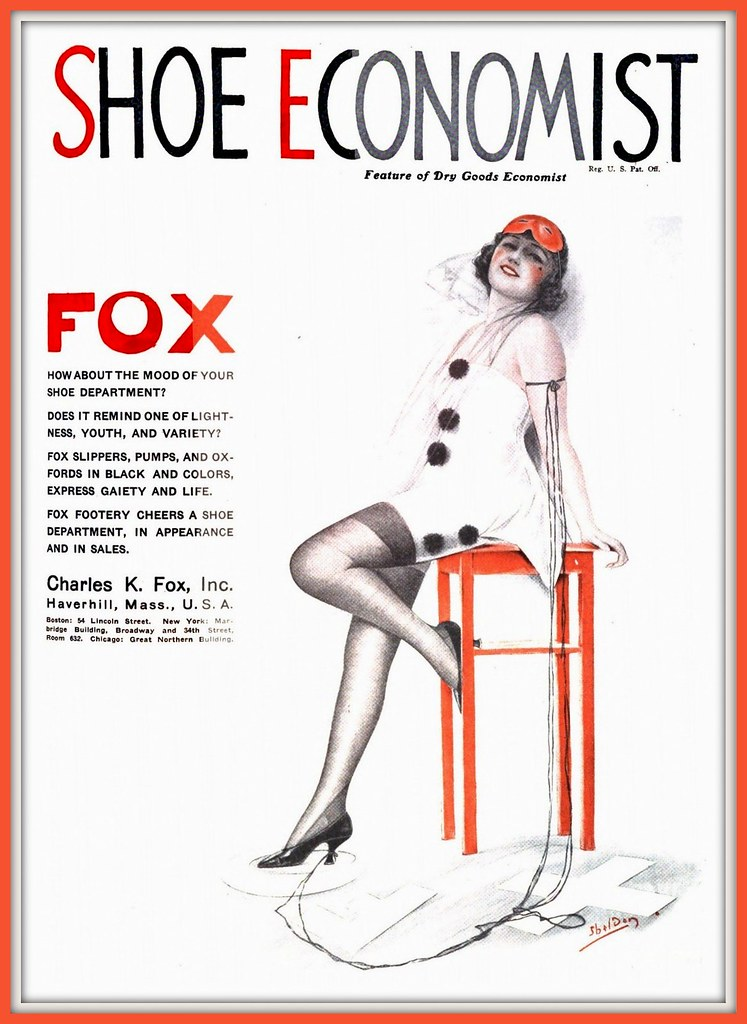1922 February Shoe Chas fox Art by Charles Sheldon | Flickr