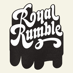 Royal Rumble / Lettering