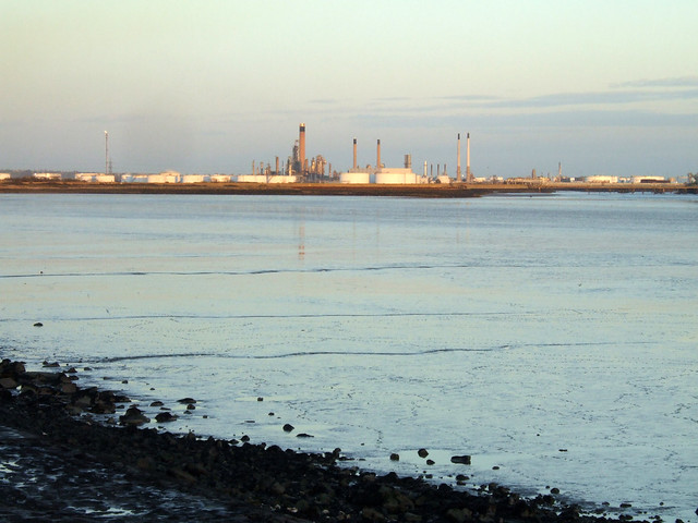 The Thames estuary at Stanford-le-Hope