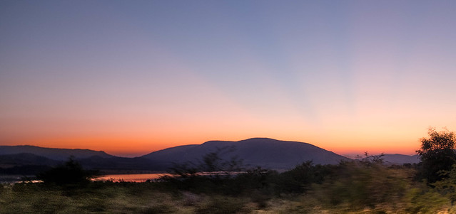 Pilanesberg sunset, South Africa