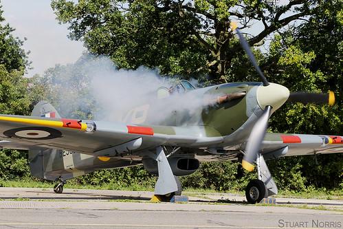 Hurricane IIb BE505 G-HHII | Hangar 11 Collection North Weald | by stu norris