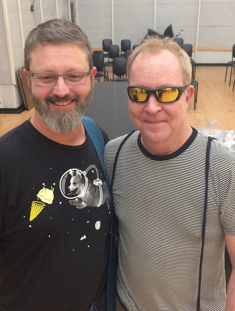 with Fred Schneider / The B52's