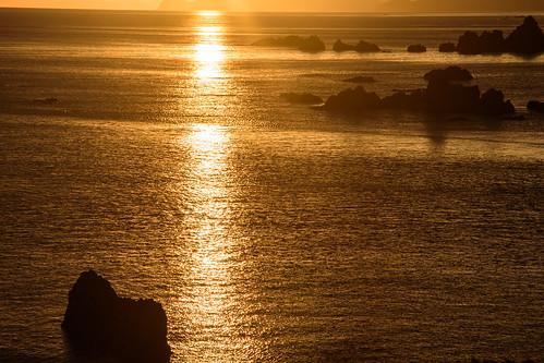 豊岡市 兵庫県 japan 城崎 日和山 海 日本海 seashore 日の出 sunrise