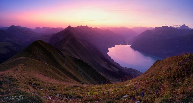 Swiss Alpine Dawn