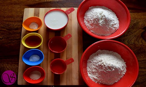 Honey Buttermilk Bread Ingredients