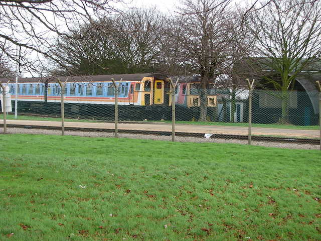 Old South West Trains train