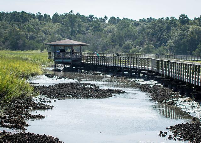 Marshwalk at Hunington Beach State Park