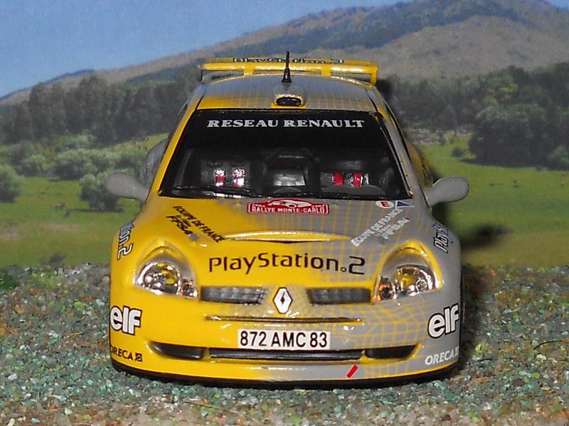 Renault Clio S1600 – Montecarlo 2004