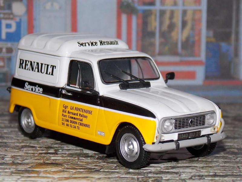 Renault 4 F4 - Service Renault - 1981