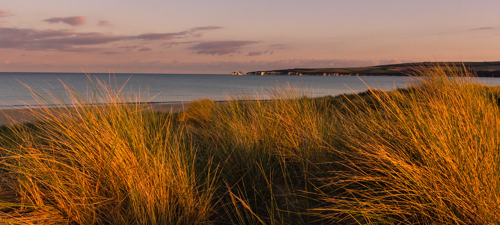 Studland Bay Sunset | Septembers evening looking towards Old… | Flickr