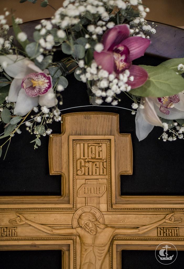 26 сентября 2017, Всенощное накануне Воздвижения Честного и Животворящего Креста Господня / 26 September 2017, Vigil on the eve of The Universal Exaltation of the Precious and Life-giving Cross