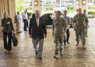 Secretary of State Tillerson Visits U.S. Pacific Command | by U.S. Department of State