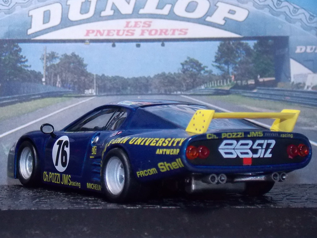 Ferrari BB512/LM – Le Mans 1980