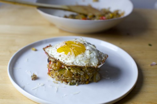 fried rice with zucchini, tomatoes and parmesan | by smitten kitchen