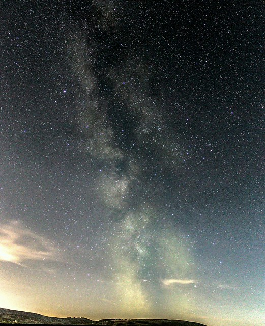 Milky Way from Builth Wells 12/08/17