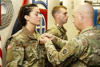 170914-A-AE214-002 | Sgt Patricia Otoole, with HHC 2/505, 3 … | Flickr