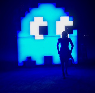 Pac Man on the Playa | by jurvetson
