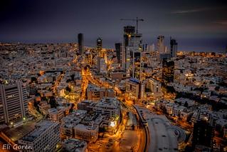 Lights of Tel Aviv