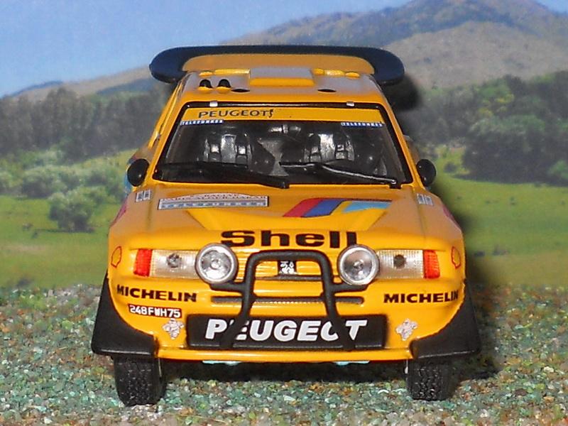 Peugeot 205 Turbo 16 - Dakar 1987