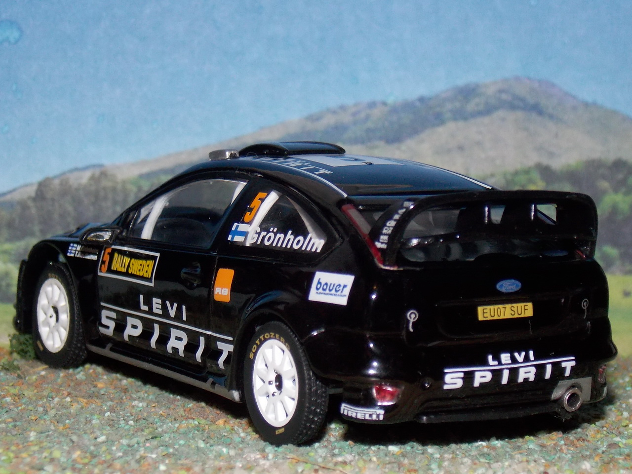 Ford Focus RS WRC – Suecia 2010