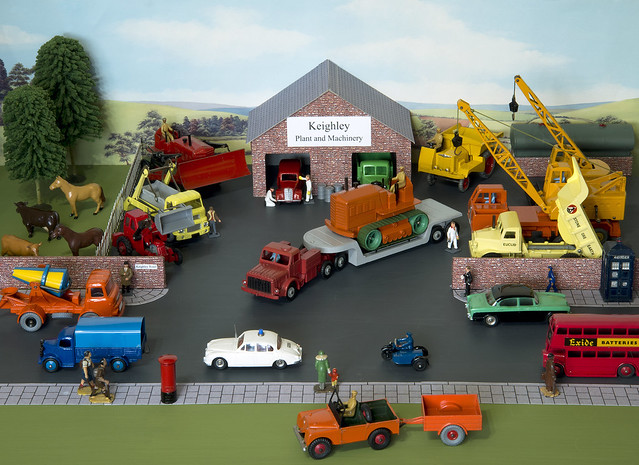 Dinky Toys Plant and Machinery Diorama