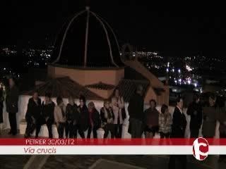 ElCristo - Videos - Intercomarcal TV - (2012-03-30) - III Vía Crucis nocturno
