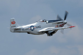 "AirExpo 2017 - P-51 Mustang ""Barbara Jean"" - Sucking Up The Gear 