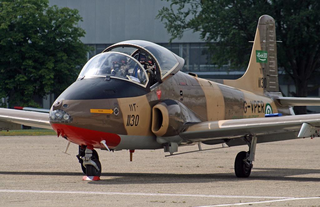 EGKB - BAC 167 Strikemaster Mk 80A - G-VPER