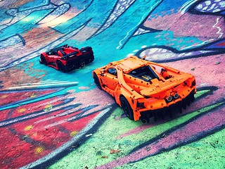 Ford GT vs. Lamborghini Veneno | by loxlego