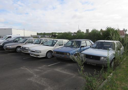 1980s/90s Renault Line-Up | by Spottedlaurel