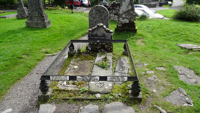 The grave of Rob Roy
