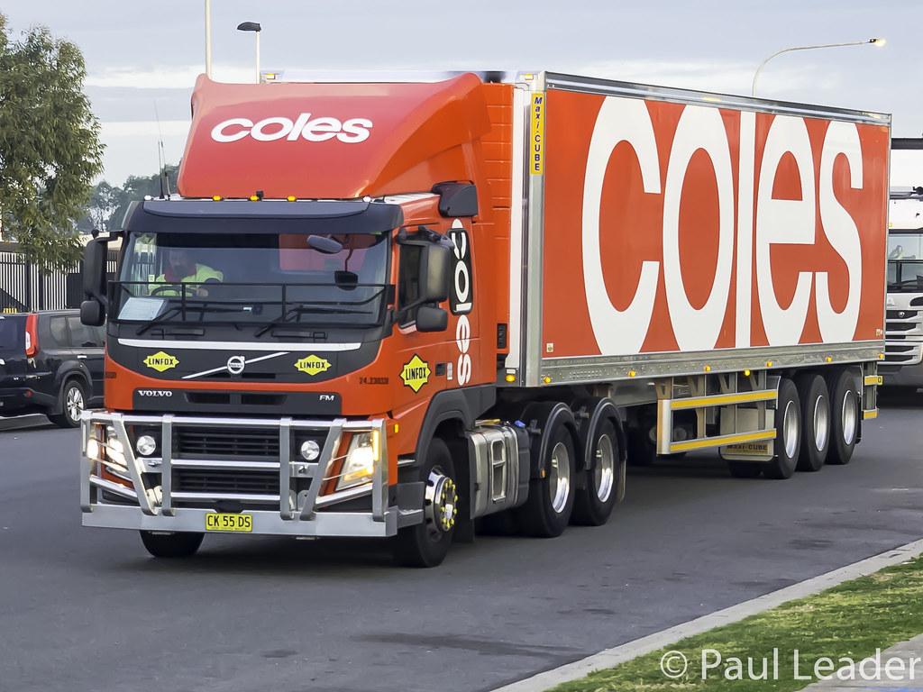 2016 Volvo FM11 | - Linfox - Coles Supermarkets | Paul Leader