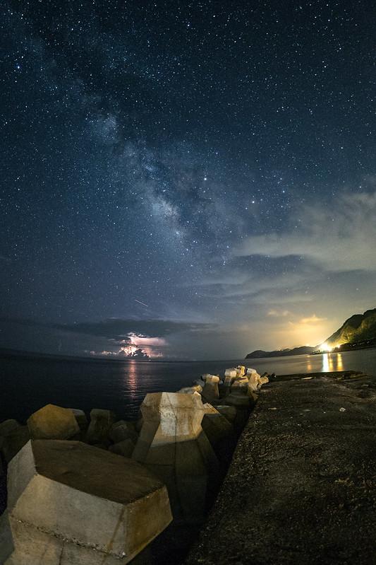 Milkyway 銀河季尾聲|鹽寮漁港