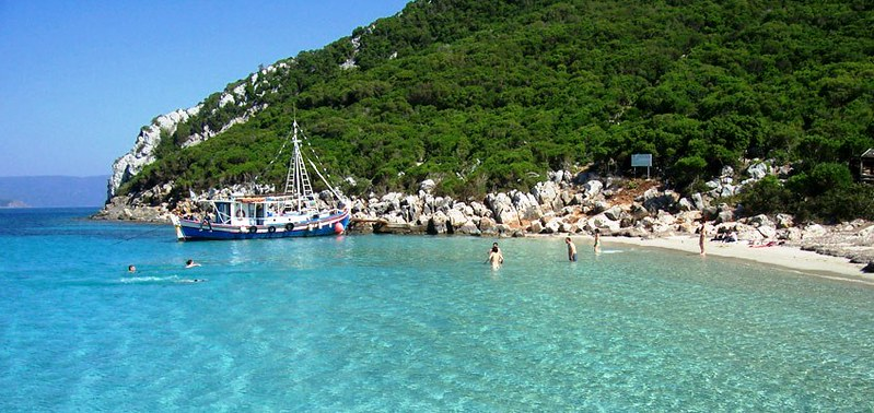 Methoni - Sapientza island