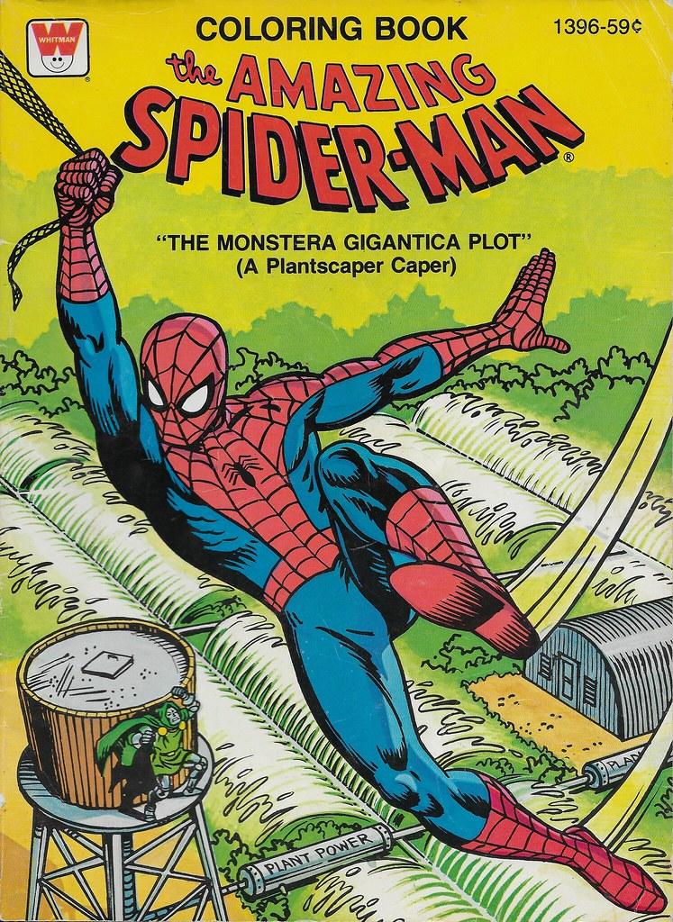 Spider-Man Coloring Book ( Whitman 1979 ) | donald deveau | Flickr