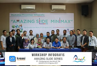 "Workshop Infografis ""Amazing Slide Series"" PT. Pembangunan Jaya Ancol, Tbk 