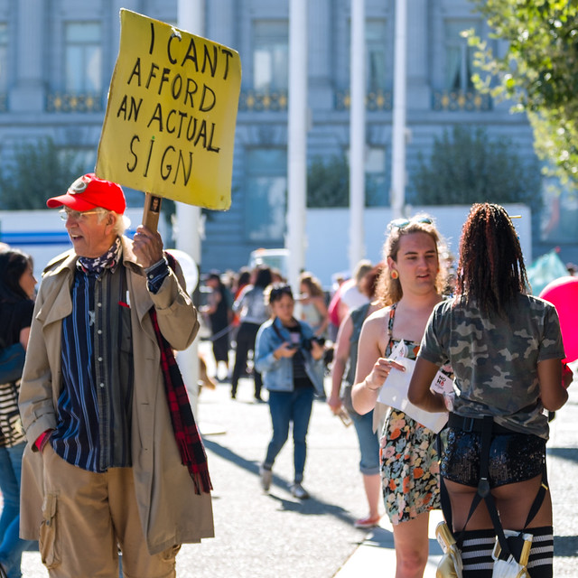 SF LoveFest/Counterprotest August 26 2017