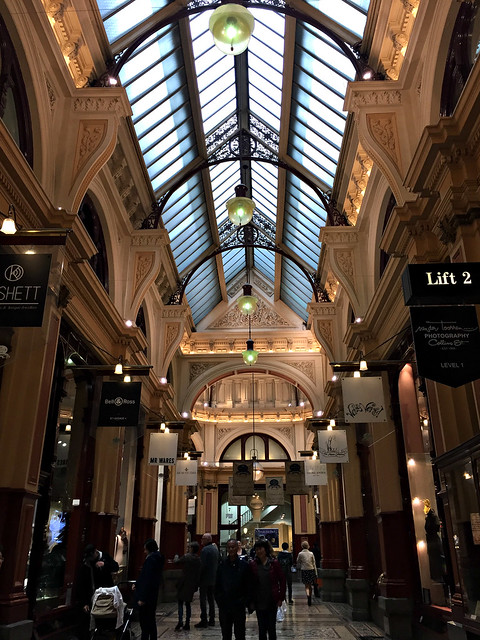 2017 Melbourne: Block Arcade #7