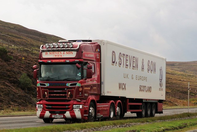 D Steven & Son Scania Topline R730 V8 SK16UVH