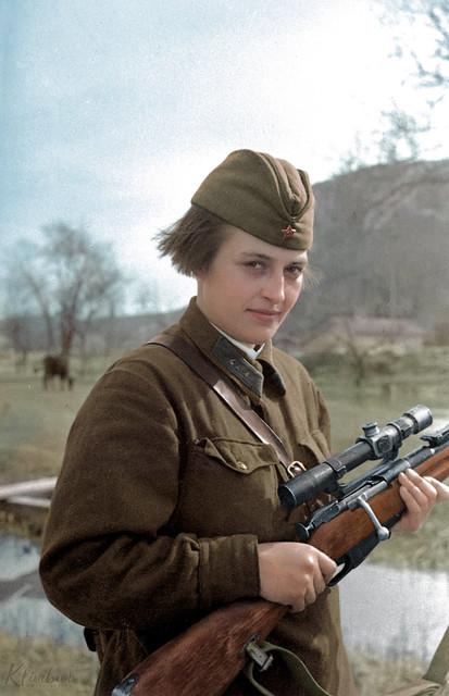 Lyudmila Pavlichenko | Людмила Павличенко