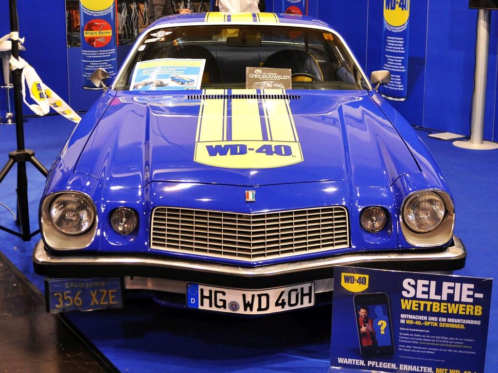 Chevrolet Camaro WD40 I 1974–1977 I 1I4 | Essen Motor Show 2