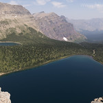 PItamakan Lake from Pitamakan Pass