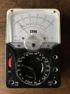 IBM Model 200C Volt/ohm meter (1970s)